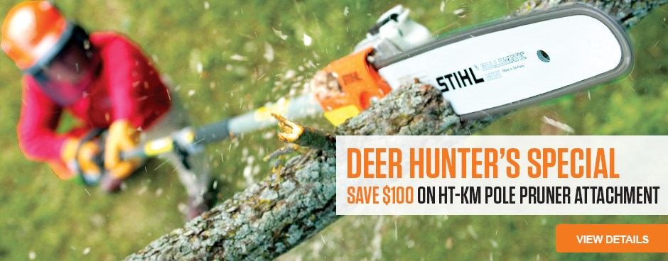 Save $100 on HT-KM Pole Pruner Attachment